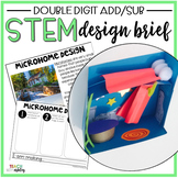 STEM Double Digit Addition & Subtraction Microhome Designs