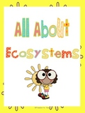 STEM: ECOSYSTEMS Unit *Games* Assessment* Comprehension & Vocabulary Cards