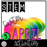 April STEM Challenges includes Easter Activities