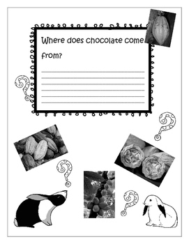 Easter, Chocolate, Project based learning, Biomimicry, Digital Activities