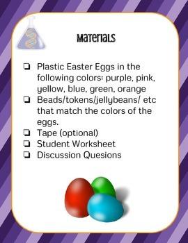 STEM - Easter Egg Genetics: Inherited Traits