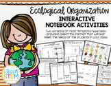 STEM: Ecological Organization Interactive Notebook (INB) Activities