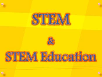 STEM Education PowerPoint Slides for Teacher Training Seminar
