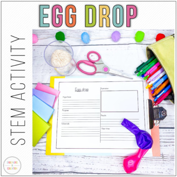 STEM Egg Drop Activity