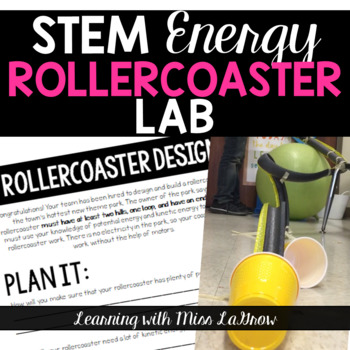 STEM Energy Foam Rollercoaster Lab Activity Packet
