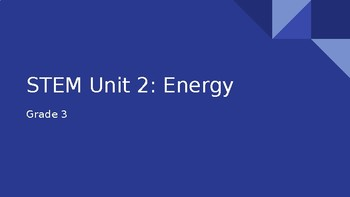 STEM Energy Unit Presentation