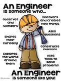 STEM Engineer Poster [someone who] - Set 2