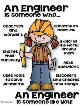 STEM Engineer Poster [someone who] - Set 2