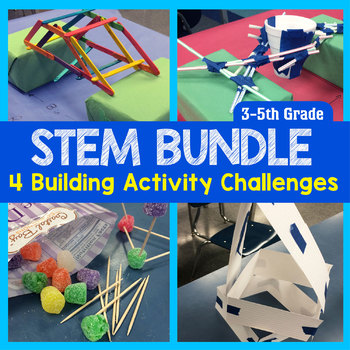STEM Engineering: 4 Activities {3rd, 4th & 5th Grade}