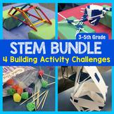 STEM Engineering: 4 Activities {3rd, 4th & 5th Grade} Bundle