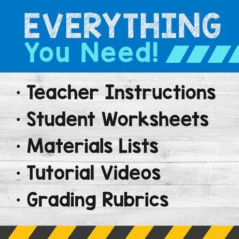 STEM Engineering: 4 Activities {Middle School}
