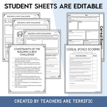 Stem designing a box using volume and surface area by teachers are stem designing a box using volume and surface area ccuart Choice Image
