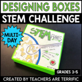 STEM Challenge Designing a Box Using Volume and Surface Area
