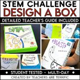 Designing a Box Using Volume STEM Challenge