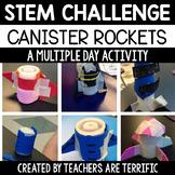 STEM Challenge Designing Canister Rockets