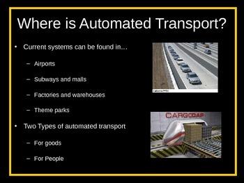 STEM Engineering - Automated Transport