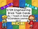 STEM Engineering Brick Building Task Cards GROWING BUNDLE!