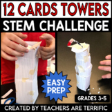 STEM 12 Cards Towers Challenge