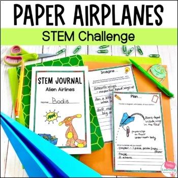 STEM Engineering Challenge- Alien Airlines- the Science of Flight