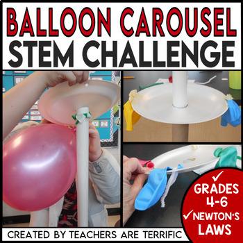 STEM Challenge Balloon Carousels