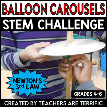 STEM Activity Challenge: Balloon Carousels