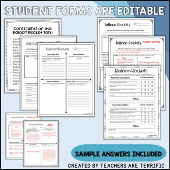 STEM Activity Challenge Balloon Rockets