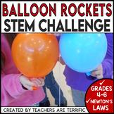 STEM Balloon Rockets Challenge