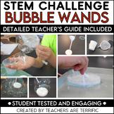 STEM Activity Challenge Bubble Making