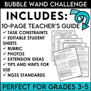 STEM Challenge Bubble Wand Design