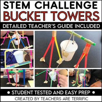 STEM Challenge Bucket Towers
