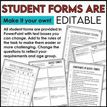 Bucket Tower STEM Challenge