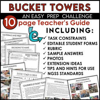 STEM Challenge Bucket Tower