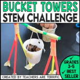 STEM Activity Challenge Bucket Towers