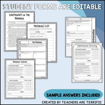 STEM Activity Challenge Build a Hammock