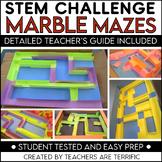 STEM Activity Challenge Build a Marble Maze!