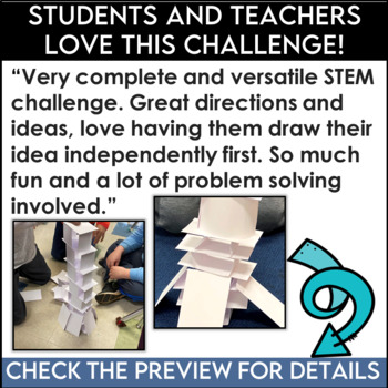 STEM Index Card Tower Challenge