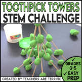 STEM Engineering Challenge: Build a Tower with Toothpicks