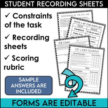 STEM Challenge Zip Line