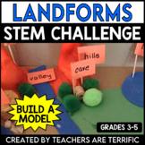 STEM Activity Challenge Build a Land Form Model