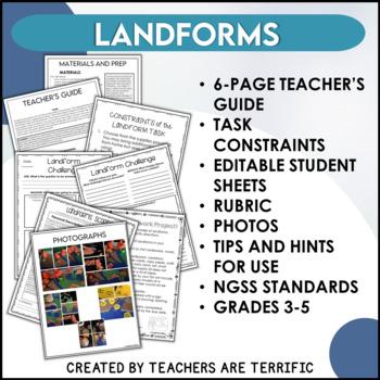 STEM Challenge Land Form Model