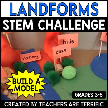 STEM Activity Challenge: Design a Landform Model