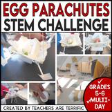 STEM Activity Challenge Egg Parachutes