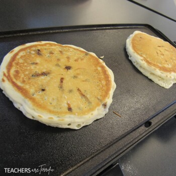STEM Activity Challenge Experiment and Design with Pancakes