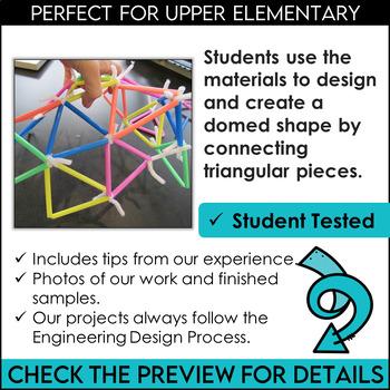STEM Activity Challenge Geodesic Domes