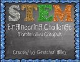 STEM Engineering Challenge Marshmallow Catapult