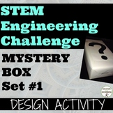 STEM Engineering Challenge: Mystery Box Engineering Design (Set #1)