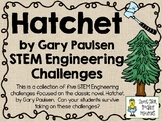 STEM Engineering Challenge Novel Pack ~ Hatchet, by Gary Paulsen