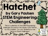 STEM Engineering Challenge Novel Pack ~ Hatchet, by Gary Paulsen
