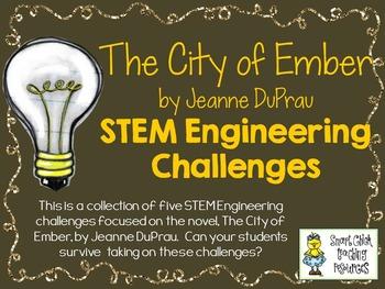 STEM Engineering Challenge Novel Pack ~ The City of Ember,
