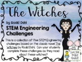STEM Engineering Challenge Novel Pack ~ The Witches, by Roald Dahl